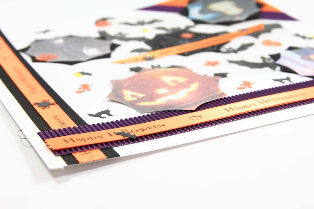 """Bedrucktes Geschenkband – Idee für """"Halloween"""""""