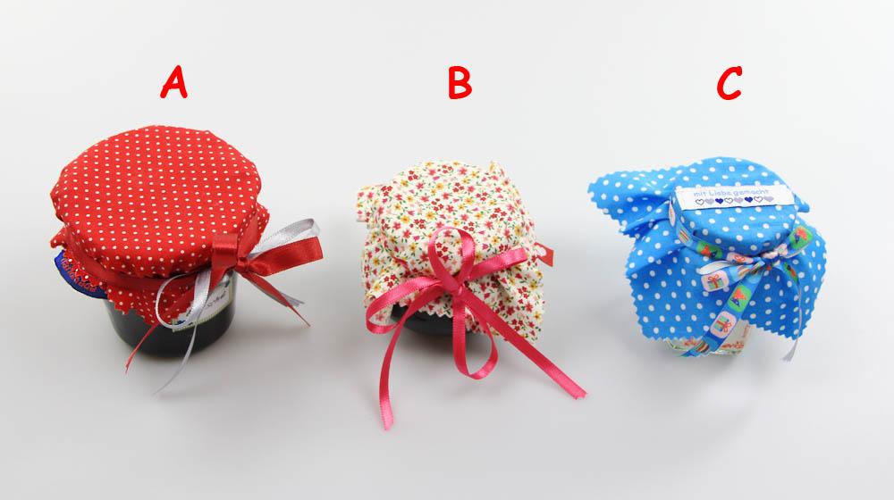 wie man selbstgemachte marmelade schoen dekoriert marmeladenglas verpacken gestalten. Black Bedroom Furniture Sets. Home Design Ideas