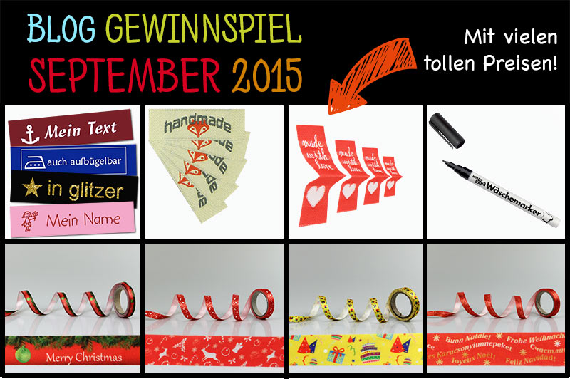 Kreatives Gewinnspiel im September 2015