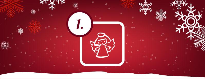 Das 1. Türchen des online Adventskalenders ist auf!