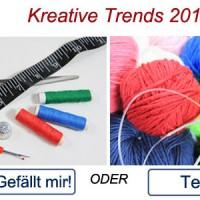 Kreative Trends: Trend in Handarbeit 2016